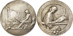 World Coins - France, Medal, Société des Sciences de Lille, Arts & Culture, 1902, Lefebvre