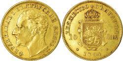 World Coins - Coin, Bulgaria, Ferdinand I, 10 Leva, 1894, Kormoczbanya, Hungary,