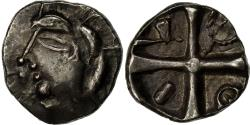 Ancient Coins - Coin, Petrocorii, Drachm, AU(55-58), Silver