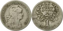 World Coins - Coin, Portugal, Escudo, 1929, , Copper-nickel, KM:578
