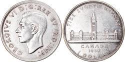 World Coins - Coin, Canada, George VI, Dollar, 1939, Royal Canadian Mint, Ottawa,