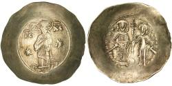 Ancient Coins - Manuel I Comnenus 1143-1180, Aspron trachy, Constantinople, AU(50-53),...