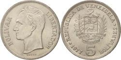 World Coins - Venezuela, 5 Bolivares, 1977, , Nickel, KM:53.1