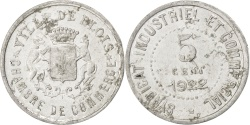World Coins - France, 5 Centimes, 1922, , Aluminium, Elie #10.5, 0.72