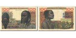 World Coins - Banknote, West African States, 100 Francs, 1959-1965, 1965-03-02, KM:201Be