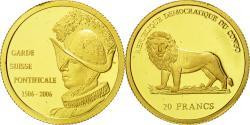 World Coins - Coin, CONGO, DEMOCRATIC REPUBLIC, 20 Francs, 2006, , Gold