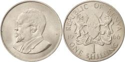 World Coins - KENYA, Shilling, 1966, KM #5, , Copper-Nickel, 27.8, 7.75