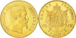 Ancient Coins - Coin, France, Napoleon III, Napoléon III, 100 Francs, 1857, Paris, AU(50-53)