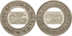 Us Coins - United States, Token, The City of Coral Gables