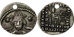 Ancient Coins - Coin, Parthia (Kingdom of), Vonones II, Drachm, 51 AD, Ekbatana, AU(50-53)
