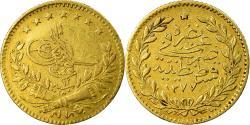 World Coins - Coin, Turkey, Abdul Aziz, 25 Kurush, 1871/AH1277, Qustantiniyah,