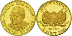 World Coins - Coin, Niger, 10 Francs, 1960, , Gold, KM:1