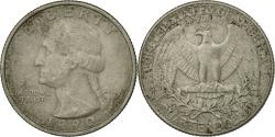 Us Coins - Coin, United States, Washington Quarter, Quarter, 1990, U.S. Mint, Denver