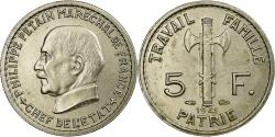 World Coins - Coin, France, 5 Francs, 1941, Paris, , Copper-nickel, KM:901