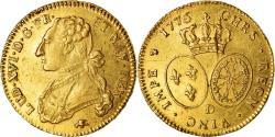 World Coins - Coin, France, Louis XVI, Double Louis d'or, 1776, Lyon, , Gold