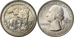 Us Coins - Coin, United States, Yellowstone, Quarter, 2010, U.S. Mint, Philadelphia