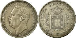 World Coins - Coin, INDIA-PORTUGUESE, GOA, Luiz I, Rupia, 1881, , Silver, KM:312