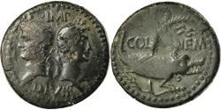 Ancient Coins - Coin, Augustus, Dupondius, 10-14 AD, Nîmes, , Bronze, RIC:160