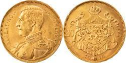 World Coins - Coin, Belgium, Albert I, 20 Francs, 20 Frank, 1914, , Gold, KM:78