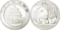 World Coins - CHINA, PEOPLE'S REPUBLIC, 10 Yüan, 2011, MS(65-70), Silver, KM:1980
