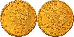 Us Coins - Coin, United States, Coronet Head, $10, Eagle, 1903, U.S. Mint, New Orleans