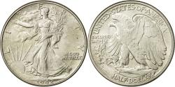 Us Coins - Coin, United States, Walking Liberty Half Dollar, 1942, AU(55-58), KM 142