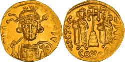 Coin, Constantine IV, Solidus, Constantinople, EF(40-45), Gold, Sear:1154