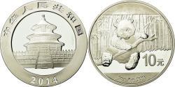 World Coins - Coin, CHINA, PEOPLE'S REPUBLIC, Panda, 10 Yüan, 2014, , Silver
