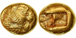Ancient Coins - Coin, Lydia, Alyattes, 1/3 Stater, 610-546 BC, Sardes, , Electrum