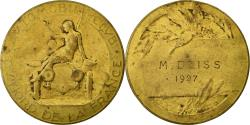 World Coins - France, Medal, Automobile-Club du Nord de la France, 1937, Benard,