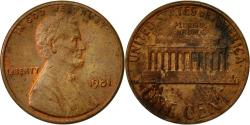 Us Coins - United States, Lincoln Cent, Cent, 1981, U.S. Mint, Philadelphia,
