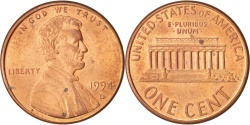 Us Coins - United States, Lincoln Cent, Cent, 1994, U.S. Mint, Denver,