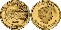 World Coins - Coin, Fiji, Elizabeth II, 10 Dollars, 2011, , Gold, KM:300