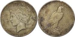 Us Coins - United States, Peace Dollar, Dollar, 1922, U.S. Mint, Philadelphia,
