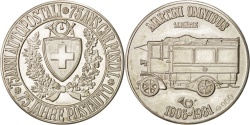 World Coins - 75th Post Office car anniversary, Token