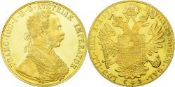 World Coins - Coin, Austria, Franz Joseph I, 4 Ducat, 1915, Restrike, , Gold, KM:2276