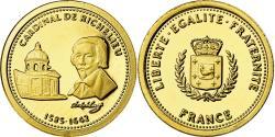 World Coins - France, Medal, Cardinal de Richelieu, History, , Gold