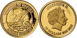 Ancient Coins - Coin, Fiji, Elizabeth II, Aurore Boréale Arctique, 10 Dollars, 2011,