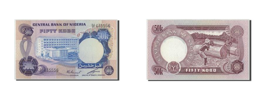 World Coins - Nigeria, 50 Kobo, KM:14e, UNC(65-70)