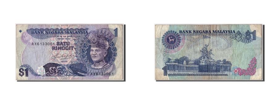 World Coins - Malaysia, 1 Ringgit, KM #19, VF(20-25), AX6133061