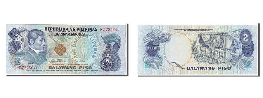 World Coins - Philippines, 2 Piso, 1978, KM #159c, UNC(65-70), FZ723641