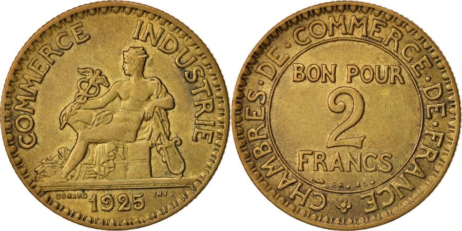 France chambre de commerce 2 francs 1925 paris au 50 for Chambre commerce francaise