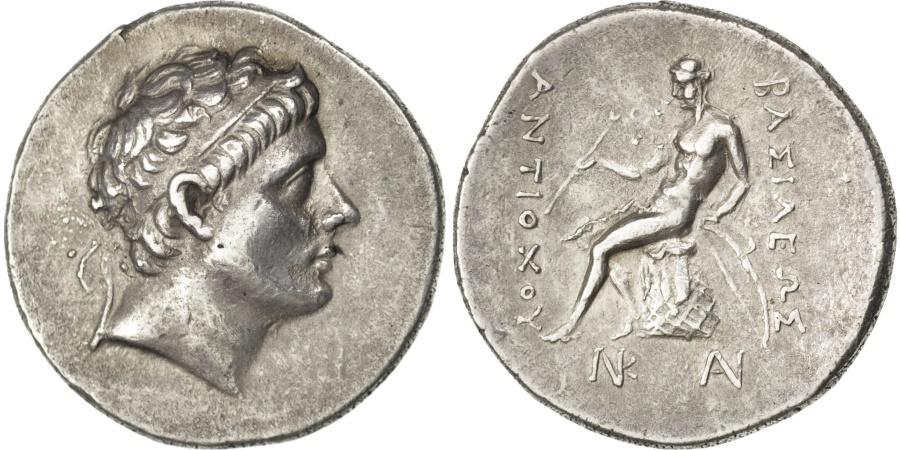 Ancient Coins - Syria (Kingdom of), Antiochus III, Tetradrachm, Antioch, , Silver,...
