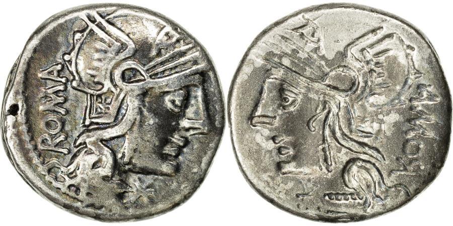 Coin, Roma, Denarius, Brockage, Rome, Rare, , Silver