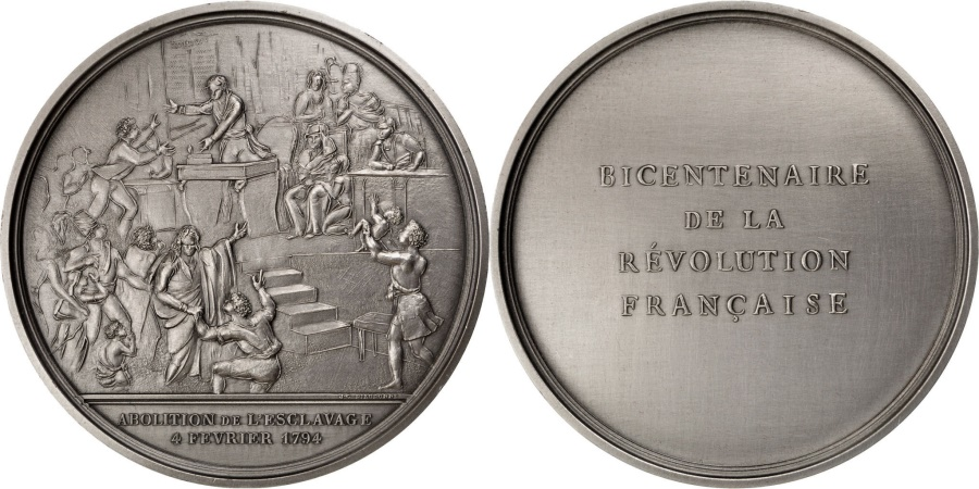 World Coins - FRANCE, History, French Fifth Republic, Medal, , Bronze, 77, 238.40