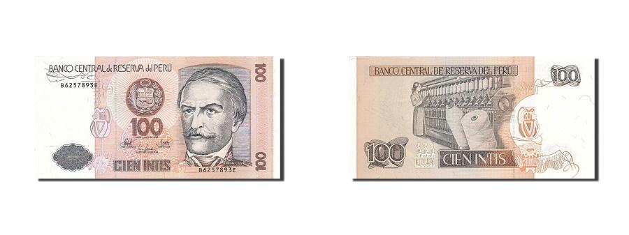 World Coins - Peru, 100 Intis, 1985-1991, KM:133, 1987-06-26, UNC(65-70)
