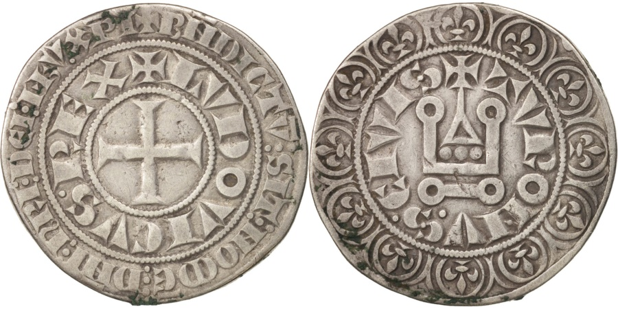 World Coins - France, Louis IX, Gros Tournois, , Silver, Duplessy:190D