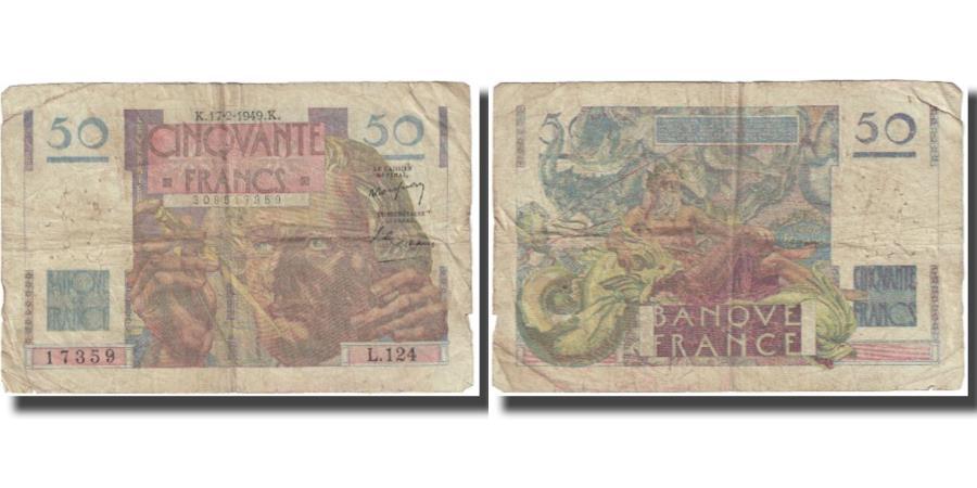 World Coins - France, 50 Francs, 1949, 1949-02-17, VF(20-25), KM:127b
