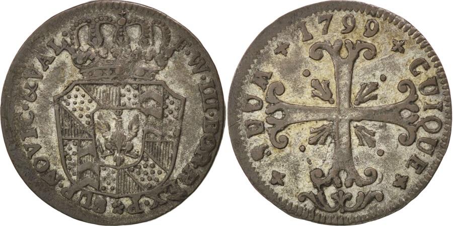 World Coins - SWISS CANTONS, 1/2 Batzen, 1799, Neuenburg, KM #58, , Billon, 1.78