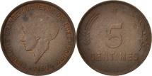 Luxembourg, Charlotte, 5 Centimes, 1930, Bronze, KM:40